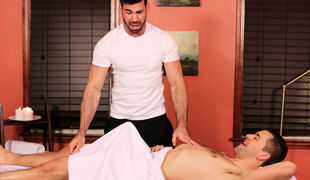 Gay Massage Abode 4, Scene #02