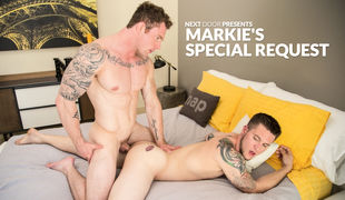 Markie More is known to have an eye for talent, so when he heard that Allen Lucas had started bottoming, Markie's interest piqued