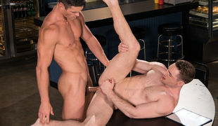 Dustin Holloway and Fane Roberts stop at a diner on 'Route 69' for a quick bite to eat but when Fane accepts a look at the waiter, Ryan Rose