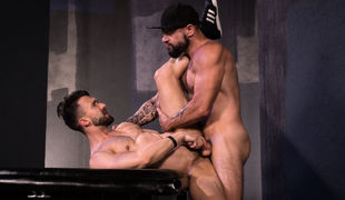 Tex Davidson and Ryan Finch don't fuck around when it comes to getting dirty