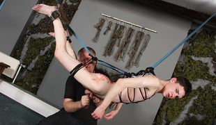 Aaron Aurora is just a toy for the dominant and devious Sebastian Kane!