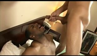 Tattooed black guy got licked and drilled him in his ass in 6 episode