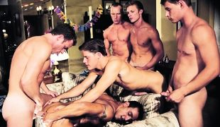 Clint Cooper, Bryce London, Cameron Fox, Kevin Miles, Jacob Wood, Leo Bramm