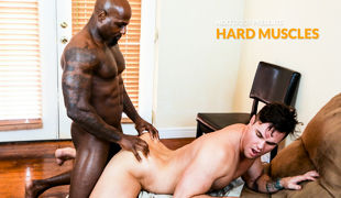 Newcomer Darion is leading Beau Reed through his normal workout regimen