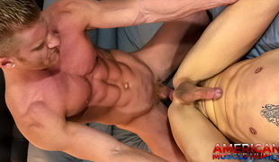 Johnny V as a dominant is always sexy. Who wouldn't need to be topped by a ripped, ginger bodybuilder