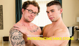 Fan favorite Markie More is in the driver seat as he introduces Mike Stone, a built young stud with an easy to obtain mind and a nice thick member to